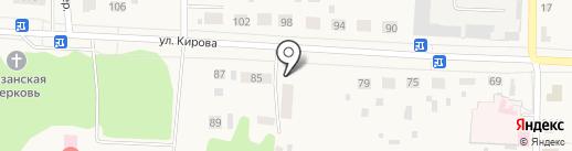 Амели на карте Исетского