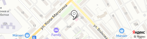 Ветклиника на карте Кургана