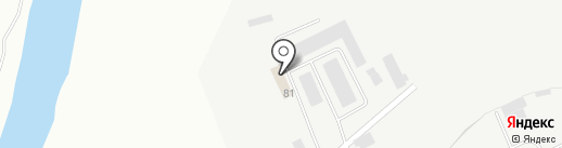 Специализированное дорожное предприятие, МУП на карте Кургана