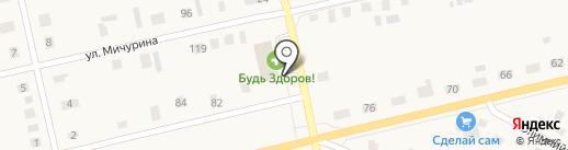 Amigo на карте Исетского