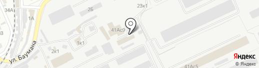 Север_Авто на карте Кургана