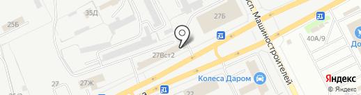 Русское TV на карте Кургана