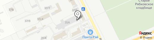 Автогазсистема на карте Кургана
