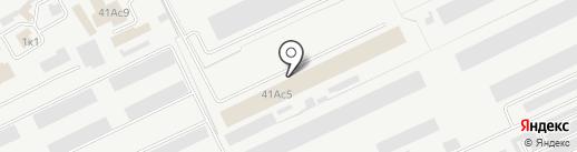 Центр авторемонта на карте Кургана