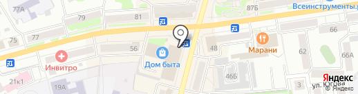 Стиль на карте Кургана