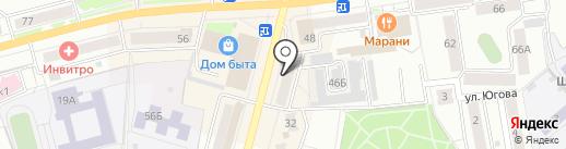 О, белье на карте Кургана