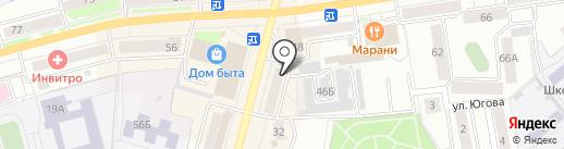 Адвокатский кабинет Павлухиной О.А. на карте Кургана