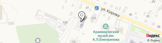 Детская школа искусств на карте Исетского