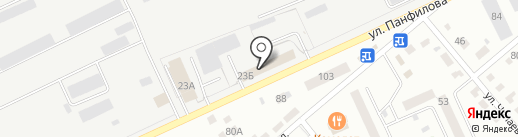 ЛИДЕР на карте Кургана