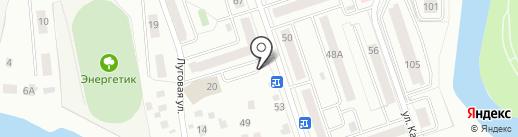 Онкора на карте Кургана