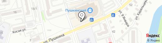 БАНК КУРГАН, ПАО на карте Кургана