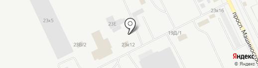КурганМодульСтрой на карте Кургана