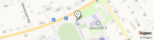 Автомобилист на карте Исетского
