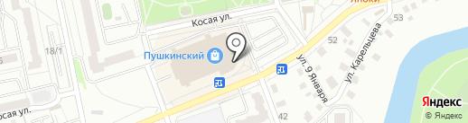 Оптово-розничный магазин на карте Кургана