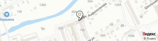Детская библиотека им. С.Я. Маршака на карте Кургана