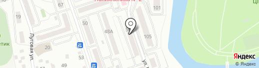 Улица Карельцева 56, ТСЖ на карте Кургана