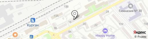 АвтолавкА на карте Кургана