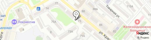 Курганский линейный отдел МВД России на транспорте на карте Кургана