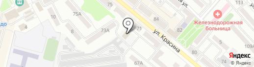 Торгово-сервисная компания на карте Кургана