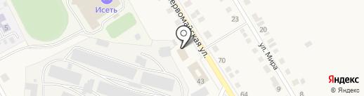 Твой офис на карте Исетского