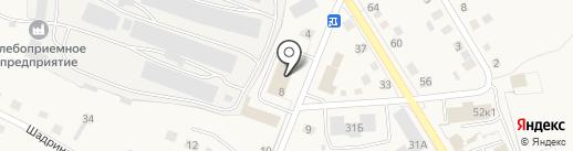 Исетский районный суд на карте Исетского