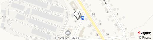 Qiwi на карте Исетского