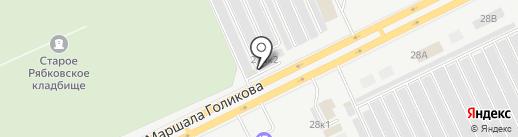 Автомастер на карте Кургана