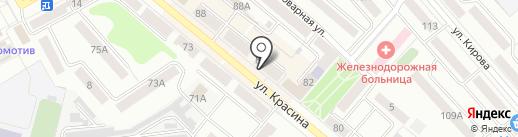 Магазин кондитерских изделий на карте Кургана