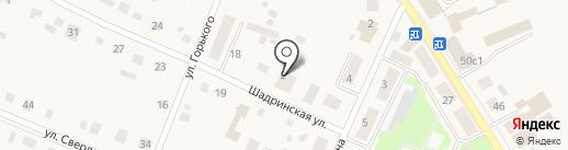 Елена на карте Исетского