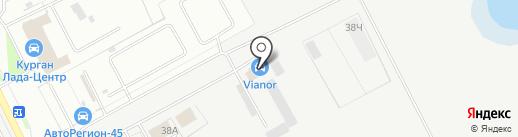 Вианор на карте Кургана