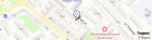 ЖСК №9 ЮУЖД на карте Кургана