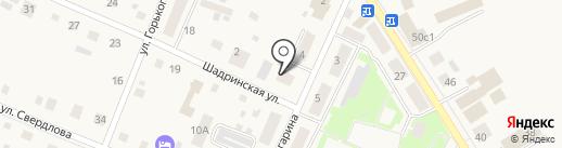 Рябинушка на карте Исетского