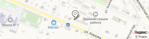 Центр занятости населения Исетского района на карте Исетского