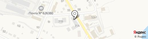 Золушка на карте Исетского