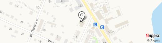 Универмаг на карте Исетского