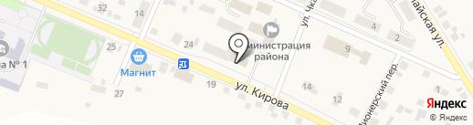 Исетский районный отдел на карте Исетского