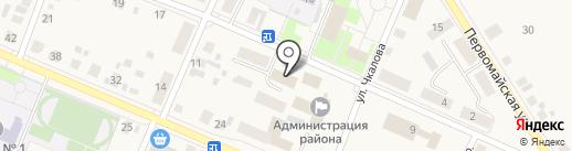 Заря на карте Исетского