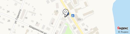 Связной на карте Исетского
