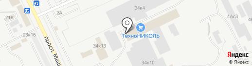 ТехноНИКОЛЬ на карте Кургана