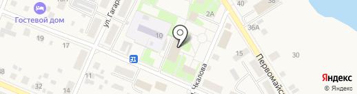 Исеть на карте Исетского