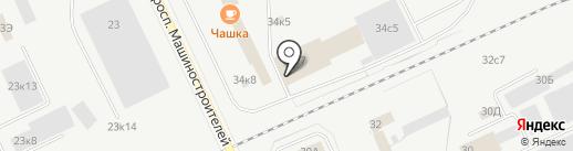 Автопарк на карте Кургана