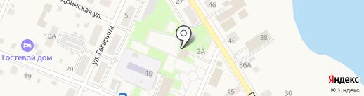 Кокетка на карте Исетского