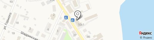Тройка на карте Исетского