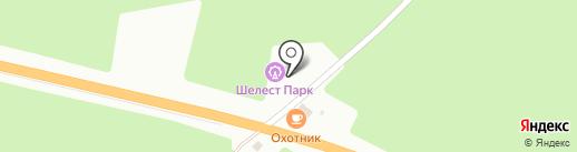 Шелест парк на карте Кургана