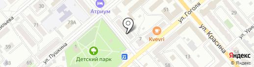 КАЗКУРОРТ на карте Кургана