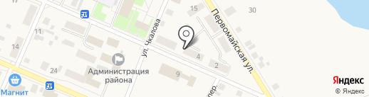 Управление Федеральной службы государственной регистрации, кадастра и картографии по Тюменской области на карте Исетского