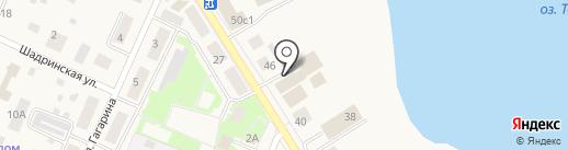Надежда на карте Исетского