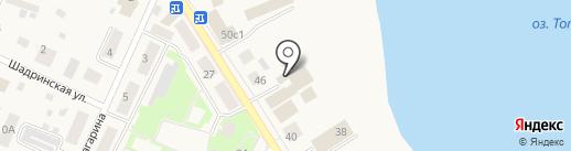 Книжкин дом на карте Исетского