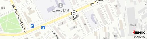 УДачный на карте Кургана