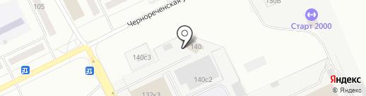 Сладонеж на карте Кургана
